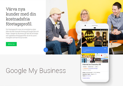 Google My Business customers
